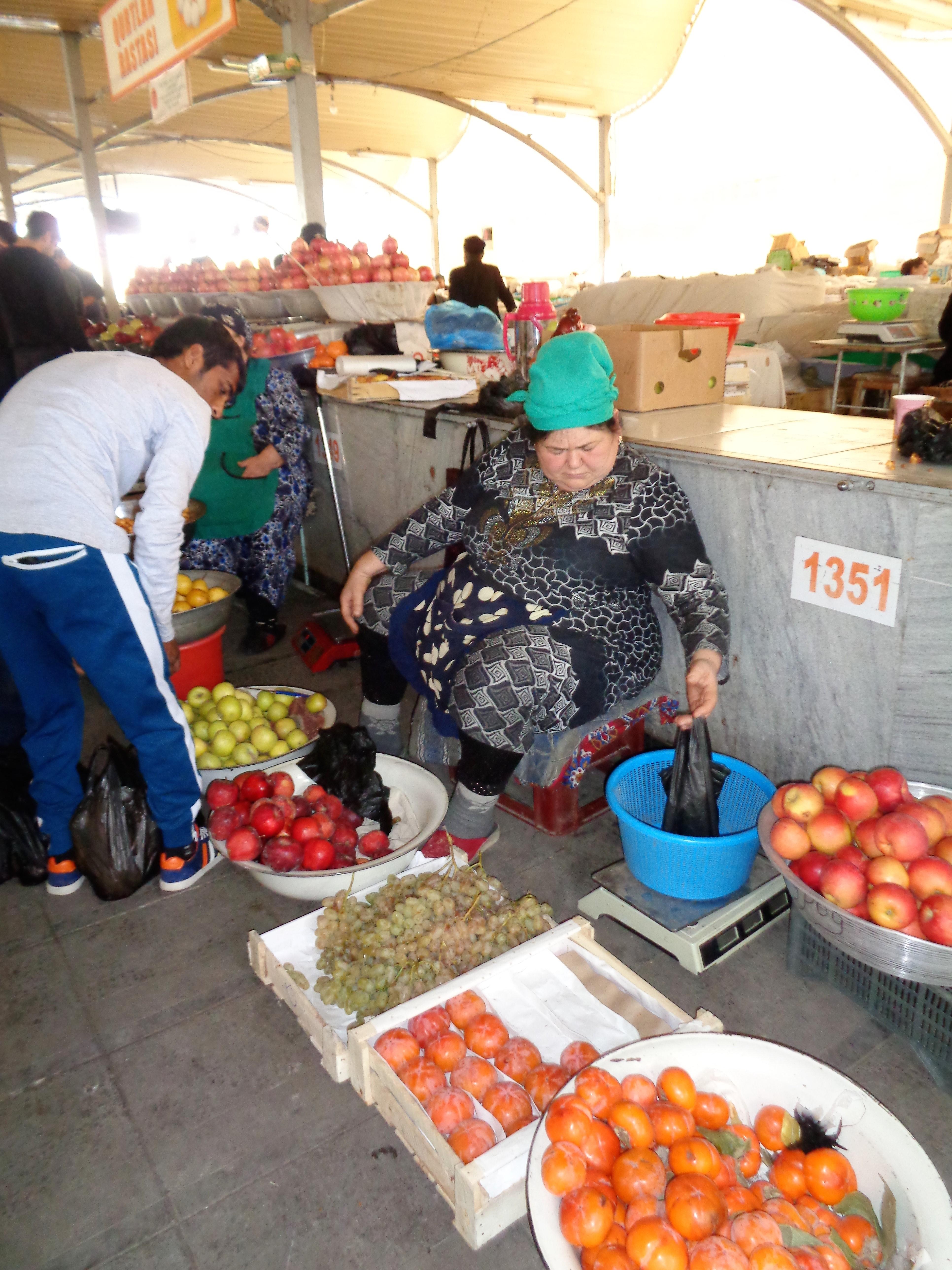 Finding Firdaus in Tashkent's Chorsu Bazaar
