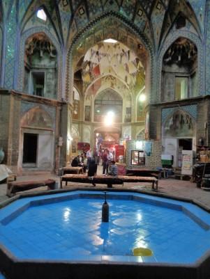 Water_in_bazaar_Kashan